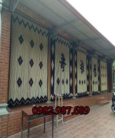 Rèm hạt gỗ 008