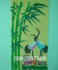 Rèm hạt nhựa kết tranh Hà Nội