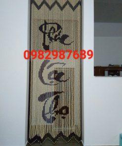 Rèm hạt gỗ K01 tại Hà Nội