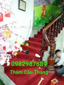 Thảm cầu thang giá rẻ tại Hà Nội