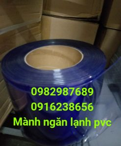Rèm ngăn lạnh điều hòa PVC - K4